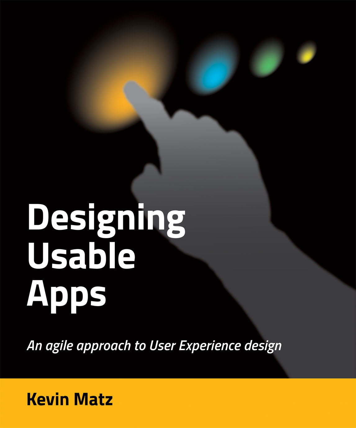 Designing Usable Apps (book cover)